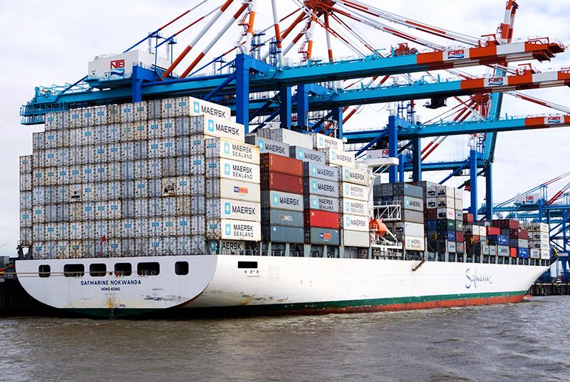 порт морские перевозки A.P. Moller-Maersk Maersk