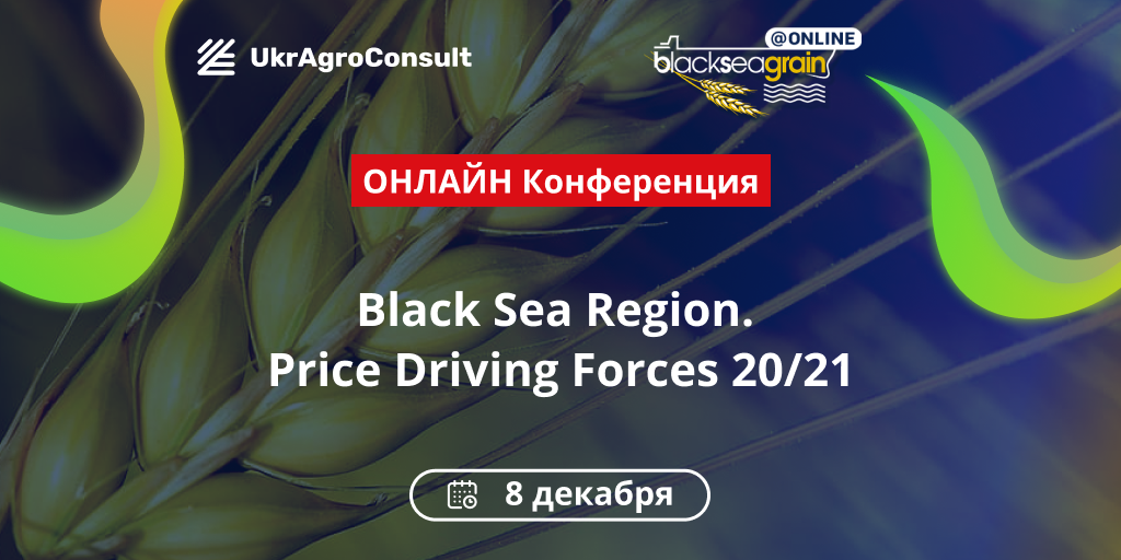 онлайн конференция Black Sea Region. Price Driving Forces 20/21