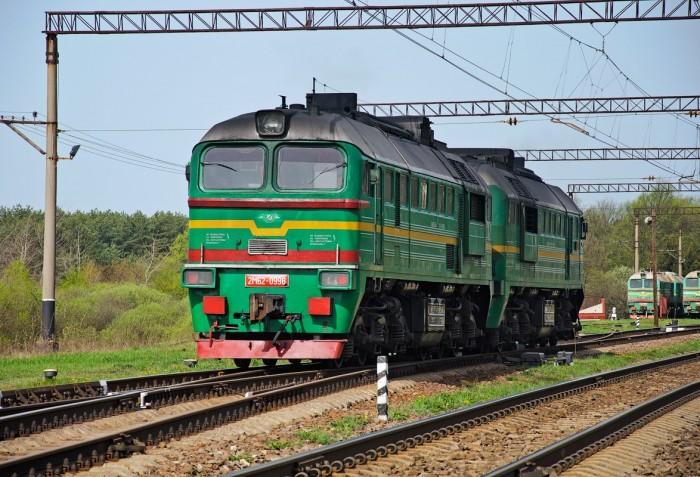тягач поезд