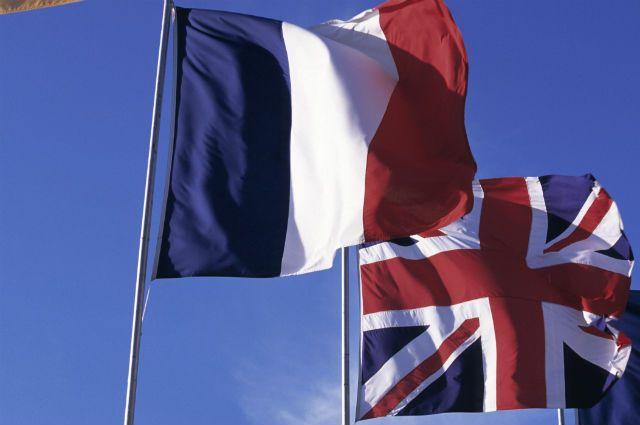 Англия Франция