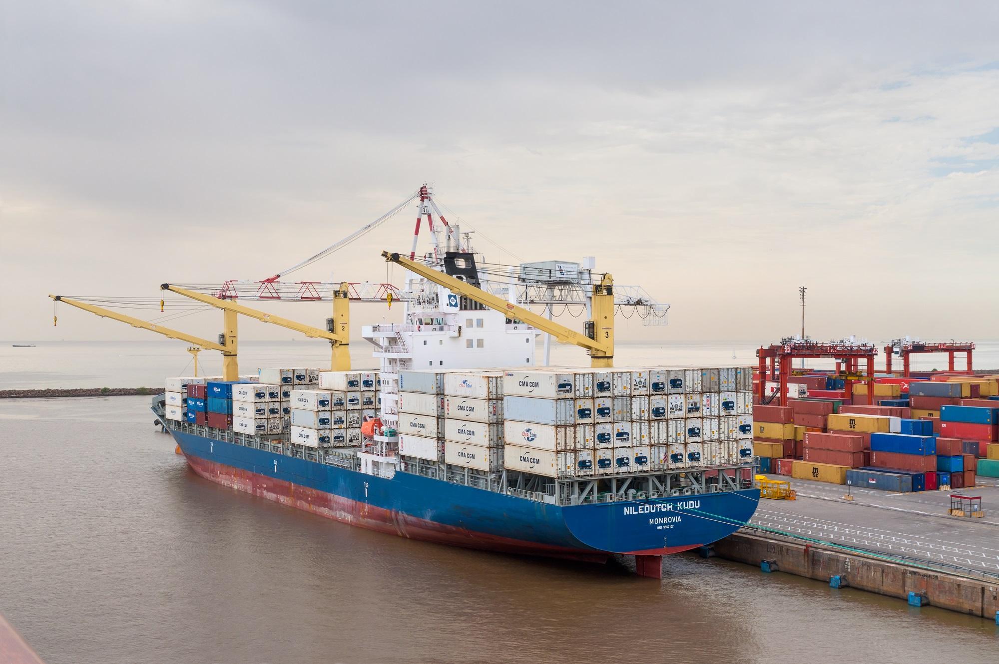 порт контейнеровоз Аргентина