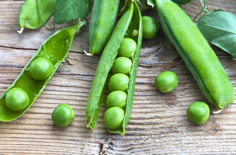 peas бобовые