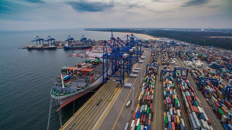 порт Гданьск