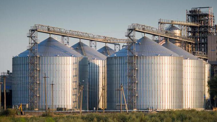 зернохранилище логистика