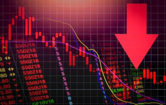 экономика график вниз